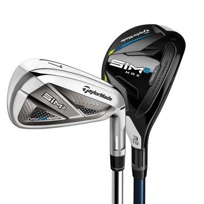 SIM2 Max Combo Set - Graphite irons and 1 Hybrid
