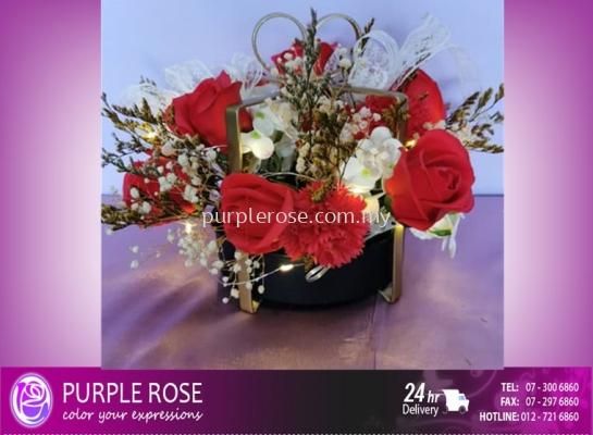 Soap Flower Bouquet Set 72