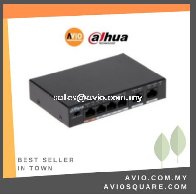 DAHUA AVIO PFS3006-4GT-60 4 POE + 2 GE Unmanaged Switch
