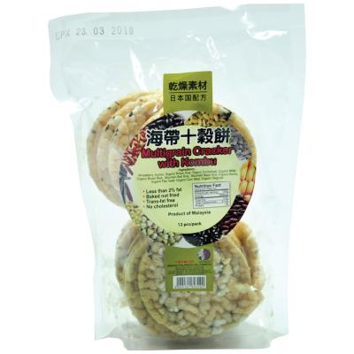 Multigrain Cracker With Kombu