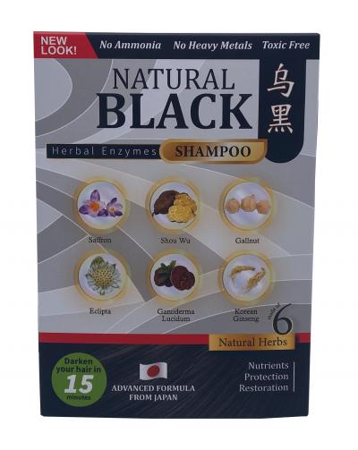 Natural Black (Herbal Enzyme Shampoo)