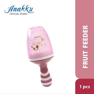 163-415 SILICONE FRUIT FEEDER PINK
