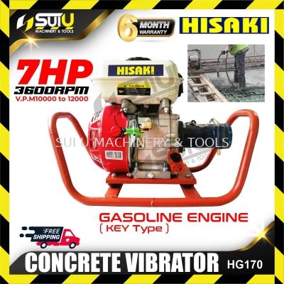 Hisaki HG170 CONCRETE VIBRATOR Gasoline Engine