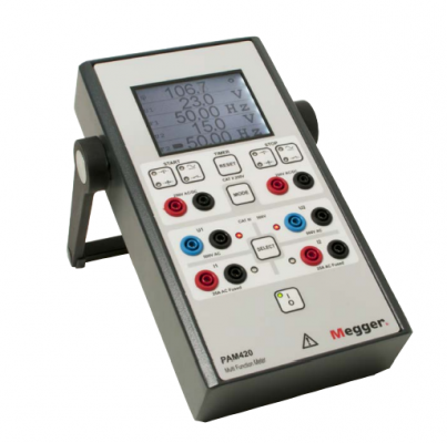 MEGGER PAM420 Multifunction Phase Angle Meter
