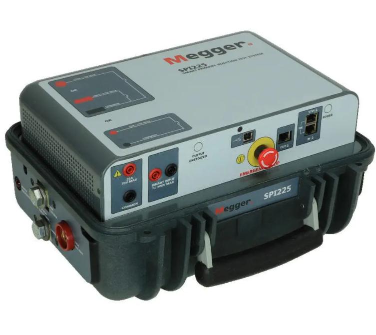 MEGGER SPI225 Smart Primary Injection Test System