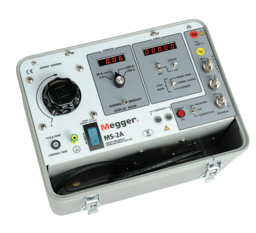 MEGGER MS-2A Circuit Breaker and Over Current Relay Test Set
