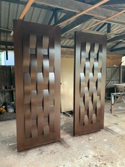 Double Solid Timber Door
