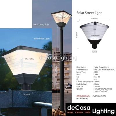 Outdoor Solar Pillar Light / Pole Light