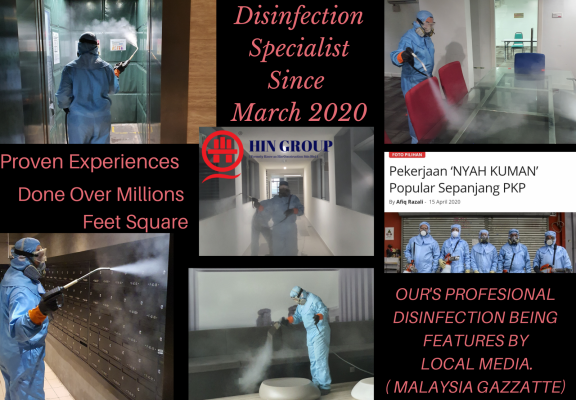Professional Disinfection Service's In Malaysia