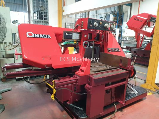 USED AMADA H-650HD HEAVY DUTY BANDSAW MACHINE