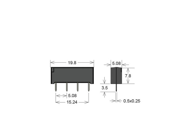 Standex SIL12-1B90-71Q Series Reed Relay