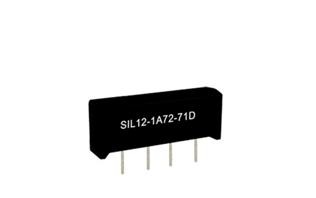 Standex SSIL24-1A75-71M Series Reed Relay