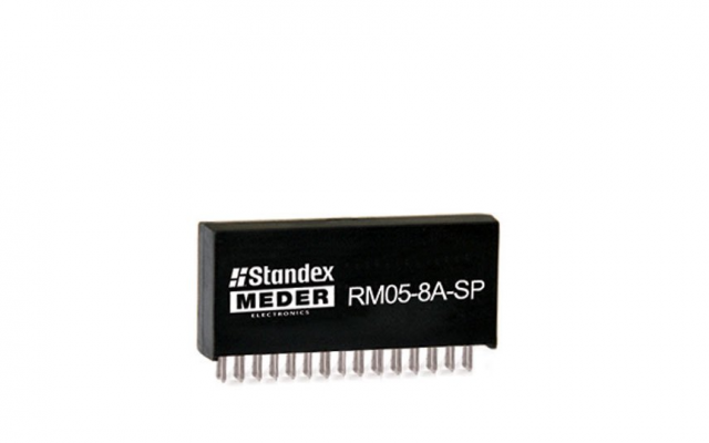 Standex RM05-8A-SP Series Reed Relay