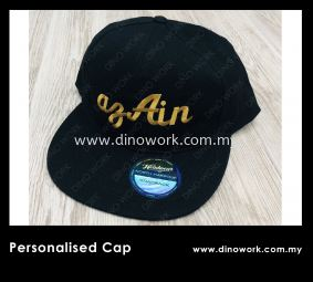 Personalize Cap
