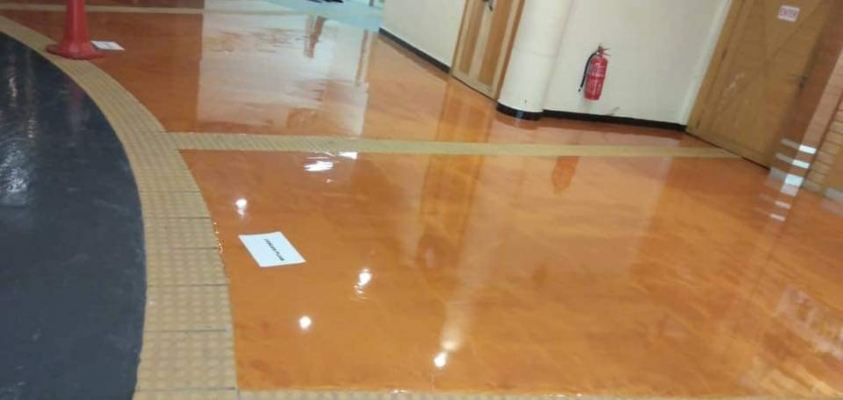 Metalic Colours Flooring