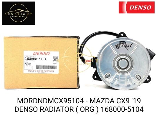MORDNDMCX95104 - MAZDA CX9 '19 DENSO RADIATOR ( ORG ) 168000-5104