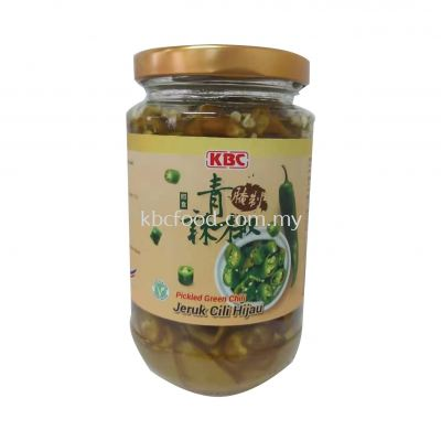 360gm KBC Pickled Green Chillies