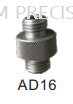 "AD16 15mm Aluminium Double Male 5/8"" Adapter"