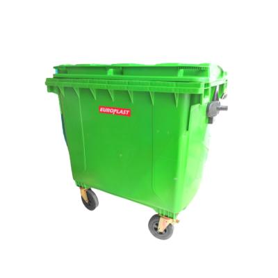EUROPLAST 4 Wheels Mobile Garbage Bin (1100L & 660L)