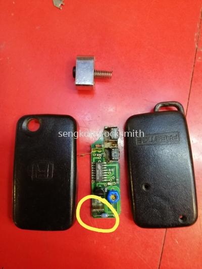 done remote Honda remote control