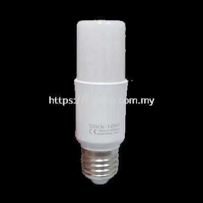 38291081  10W (WARM WHITE) E27 LED STICK BULB
