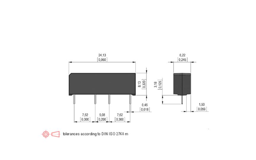 STANDEX SHV12-1A85-78D2K SHV Reed Relay