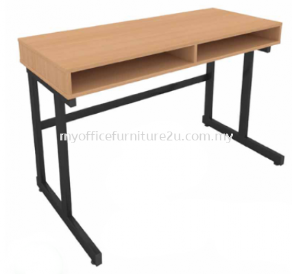 STD004 Study Table with Drawer 1200W x 500D x 760H mm (Grey/White)
