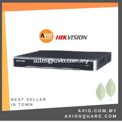 Hikvision DS-7608NI-K2/8P 8 ch IP Network NVR with POE (300m)