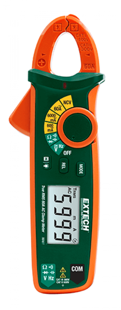 AC Clamp Meters - Extech MA61