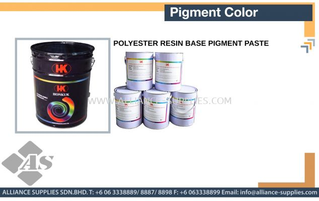 Polyester Resin Base Pigment Paste