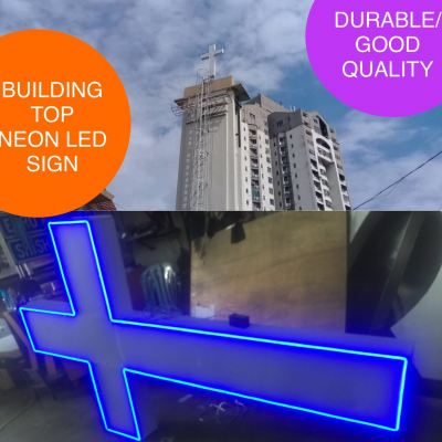 BUILDING NEON LED SIGN