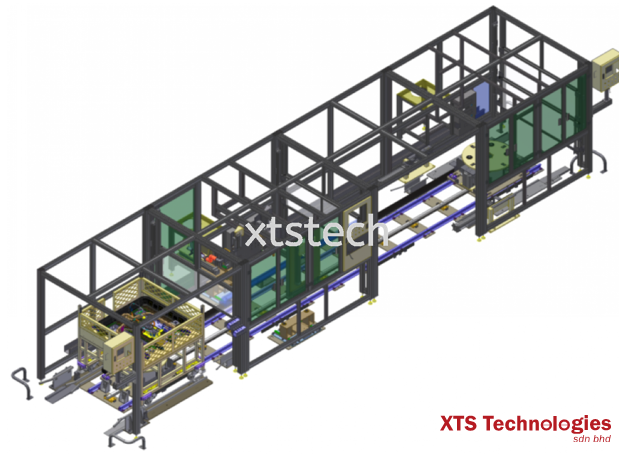 Automated Conveyor Systems and Industrial Conveyors available in XTS Technologies ✅