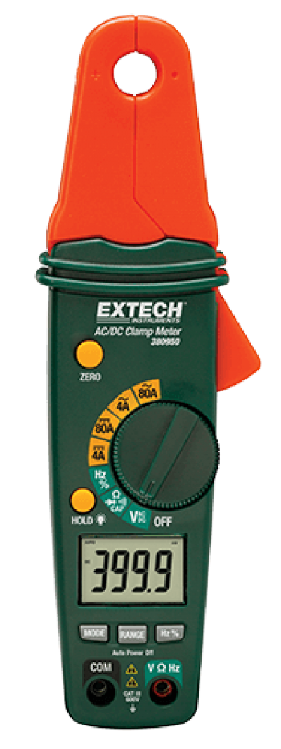AC/DC Clamp Meters - Extech 380950