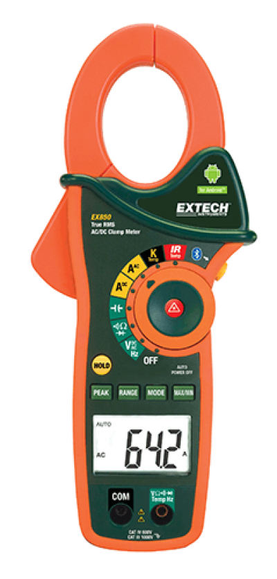 AC/DC Clamp Meters - Extech EX850