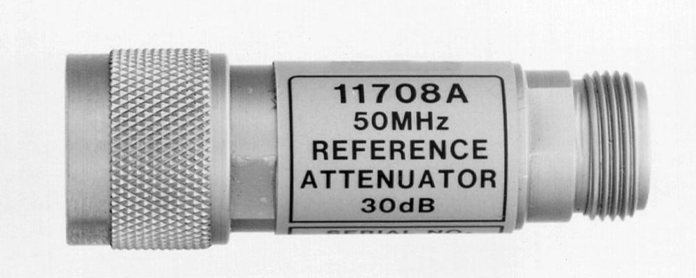 KEYSIGHT 11708A 30 dB Attenuator Pad (at 50 MHz)