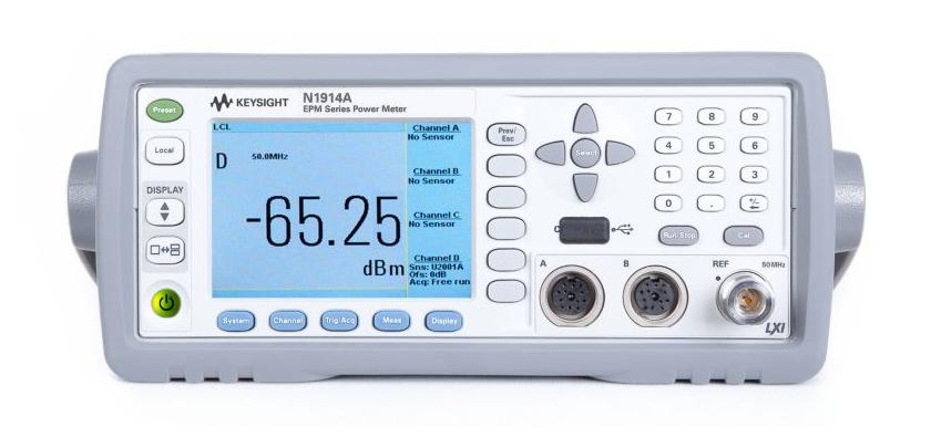 KEYSIGHT N1914A EPM Series Dual-Channel Power Meter