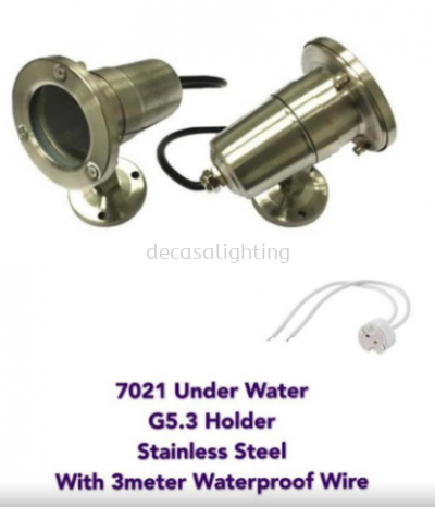 UNDERWATER SPOTLIGHT STAINLESS STEEL MR16