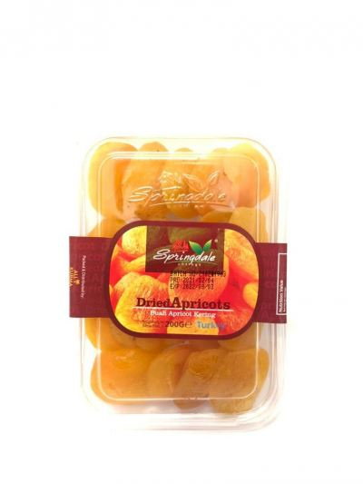 Springdale Cottage Dried Apricot 200gm