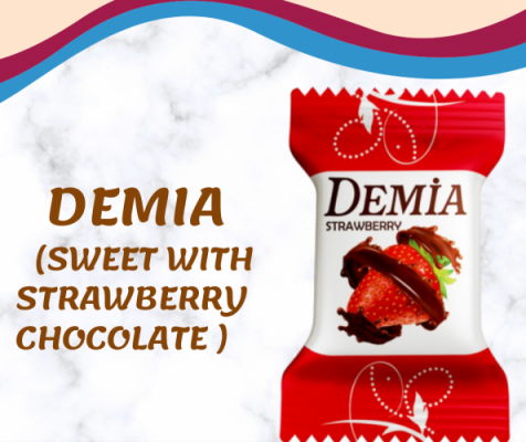 Demia (Sweet With Strawberry Chocolate)1kg