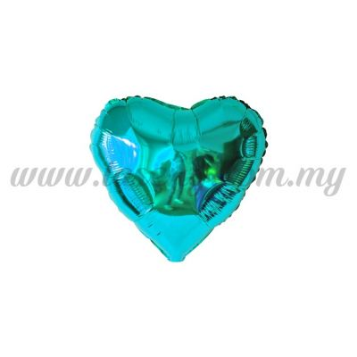 5inch Foil Balloon Love - Blue Turquoise (FB-5-LVBT)
