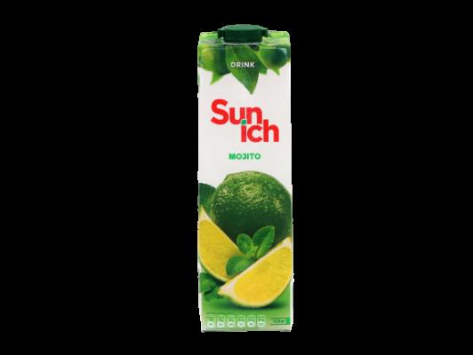 SUN ICH MOJITO ( LEMON MINT DRINK ) FRUIT JUICE 1L