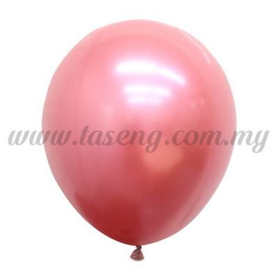 12inch Chrome Balloon 50pcs - Rose (B-12CR-RO)
