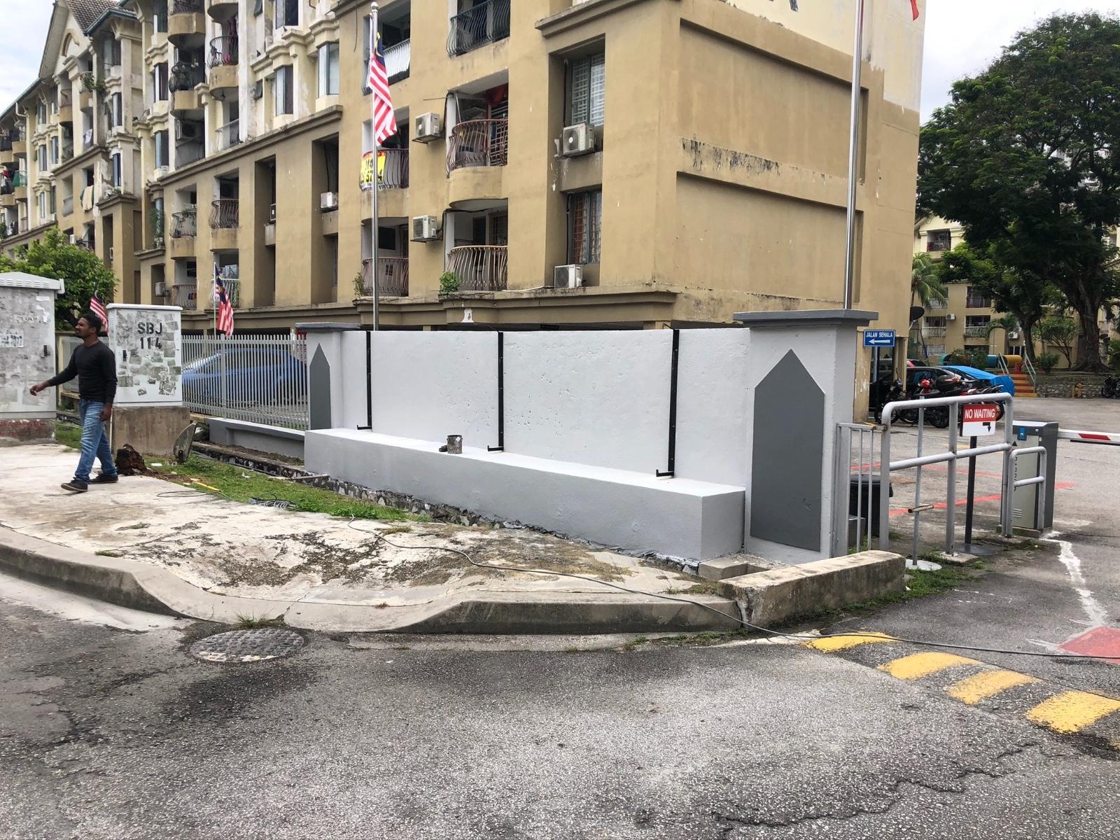 3d Stainless Steel Mirror Signboard (Subang Ville Ehsan Apartment)