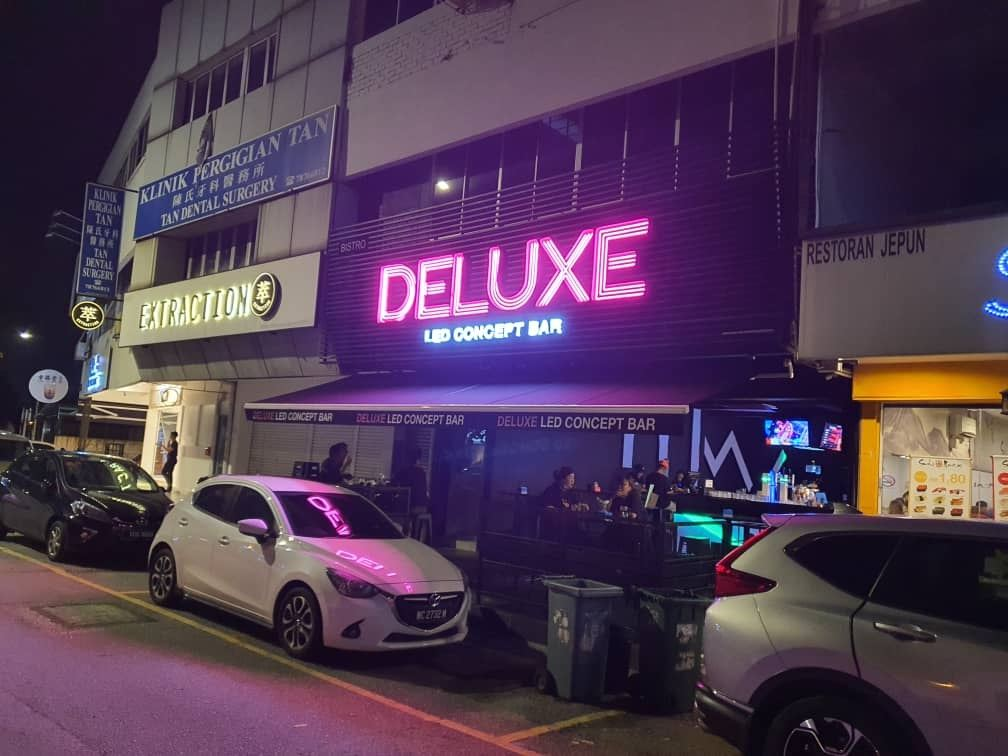 Led Neon Signboard Outdoor (Led Concept Bar)