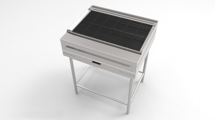 BBQ GRILL C/W STAND