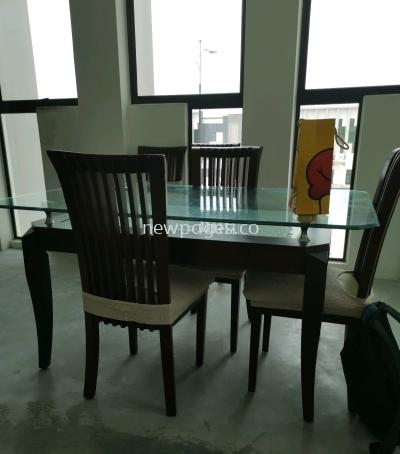 dining table set supply jb