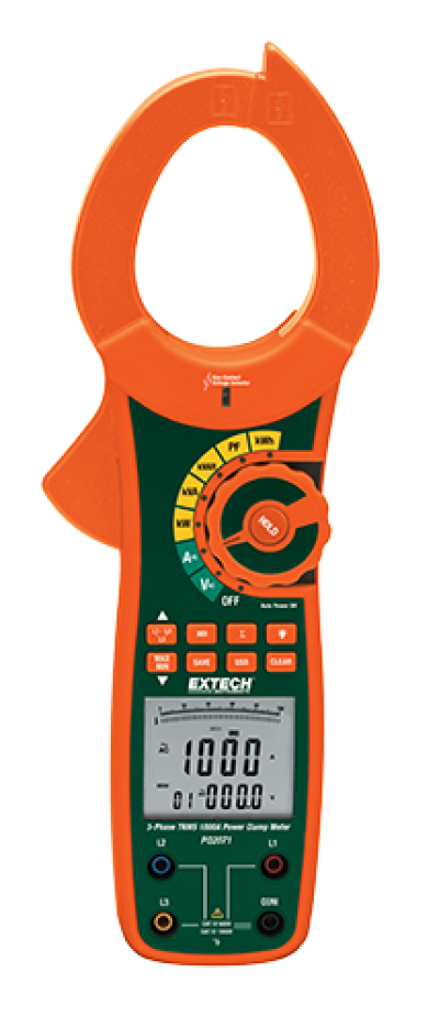 Power Clamp Meters - Extech PQ2071
