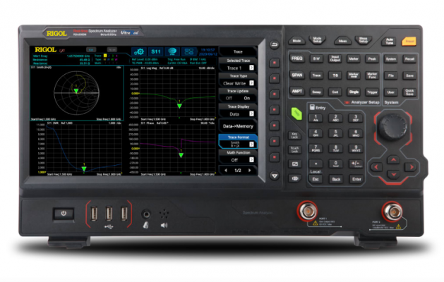 RIGOL RSA5065N - 6.5GHz Real Time Spectrum Analyzer with Vector Network Analysis