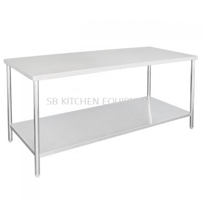 Stainless Steel Working Table (2 Tier)