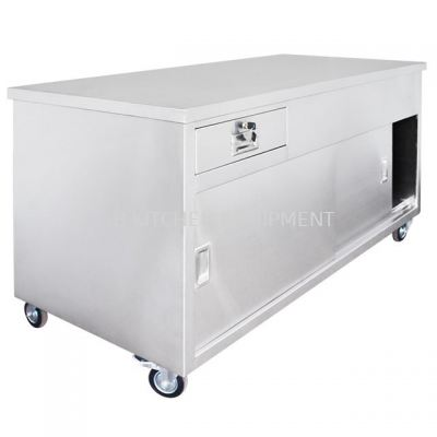 Stainless Steel Counter 6'